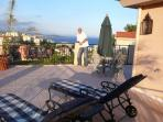 Large Terrace  - Panoramic Views - Cap Ferrat in distance. Monaco just beyond.