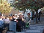 In Aliatar square you can eat the best snails Granada, or a few beers or enjoy refreshments