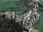 Around Borgo Val di Taro... Compiano and its castle....