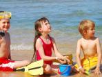 Many family beaches nearby