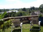 vue sur loire La  vallée de la Loire au printemp