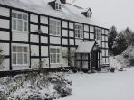 Upper Rectory in the snow