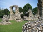 Historic Ruins, Bury St Edmunds