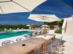 Villa Poropati, Groznjan, Istria, Croatia - Swimming pool