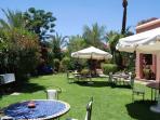 Villa Dar Zina : tropical gardens