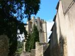 Notre maison d'hôtes à 15 minutes de l'Abbaye de Lagrasse.