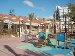 Children´s play area in the Plaza/Square