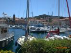 Watch the World and its boats go by at nearby Port Vendre or Argeles Port