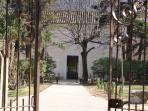 Maison Bersane : Les extérieurs