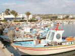 Agia Napa harbour