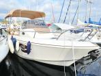 notre bateau pour vos balade en mer....