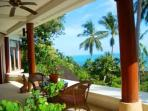 Frangipani Guest room private verandha  with ocean view