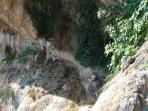 Sentier de montagne - Grotte