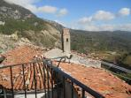 vista panoramica da balcone