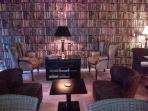 Le Couvent Library Lounge