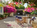 Welcome to Quinta Azul - the entrance area