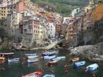 The Cinque Terre, Fantastic Fish Restaurants.
