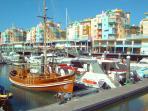 Albufeira marina 30 min walk