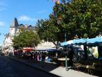 Vibrant Markets at Ste Foy la Grand