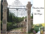 Bienvenu à La Villa La Roque / Welcome to the Villa la Roque