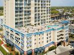 Twenty story Carolina Grande in the heart of Myrtle Beach , South Carolina