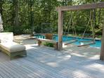 Deck Overlooking Pool