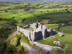Carreg Cennen castle is only a short drive