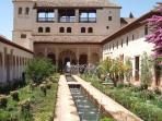 Al-Hamra Palace in Granada (daily trips from Benalmadena)