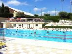 the Vence public swimming pool