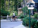 Oh go ride a bike!  Bring your own to the Firefly in the Garden Hamlet at Highland Lake