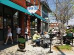Shop and Dine in Downtown Hendersonville - A short 2 Miles from the Lower Millhouse