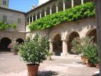 Courtyard in Ascoli Piceno