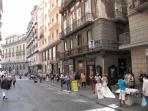 Via Toledo, just at 150 meters from holiday home