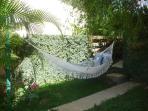 Take a relaxing siesta in our hammock