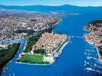 Panoramic view of Trogir