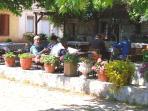 Locals in Kaya Village