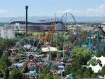 Elitch Garden Theme and Water Park - 15 to 20 minute walk from house!