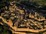Carcassonne, 12 kms away
