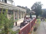 Vieux Moulin Veranda, opposite Cottage