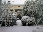 Villa Emy in wintertime