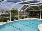 huge heated pool
