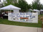 Farmers Market and Art Walk in Show Low open every Saturday from 9-1pm.