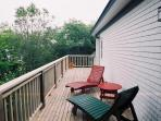 Ocean facing deck