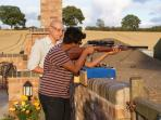 Air rifle coaching and Shooting available