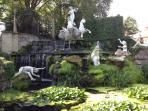 Fountain at York Gardens