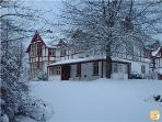 Glenfarquhar Lodge - East Wing - In the snow