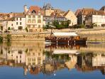 Bergerac - Traditional sailing barge river trip.