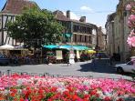 Bergerac - town centre.