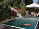 Back Garden and Table Tennis