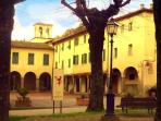 Piazza Jacopo Landino called 'Piazza Vecchia'